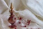Orecchini argento al chiacchierino, cristalli rubino