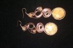 orecchini bottone oro