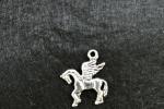 Orecchini pendenti - orecchini con charms cavallo alato