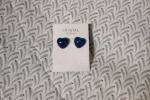 Orecchini cuore - orecchini lobo - orecchini in resina - or