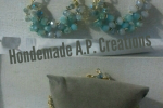 Orecchini e bracciale con perle swaroski e catenella