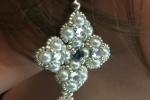 Orecchini elegance con perline