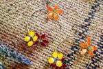 Orecchini Gioielli di smalto con fiori