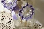 Orecchini grandi con cristalli