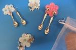 Orecchini in metallo pendenti