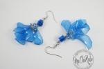 Orecchini Jelly Blu