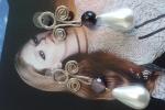 Orecchini perle a goccia