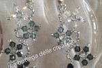 Orecchini pendenti con cristalli Swarovski