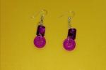 Orecchini violetta