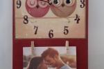 Orologio da parete - I gufetti innamorati