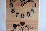 Orologio da tavolo - Uccellini innamorati