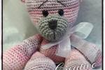 Orso rosa amigurumi