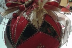 Palla natalizia patchwork