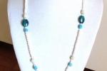 Parure Collana e Bracciale perle e murrine