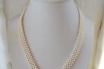 Parure di perle collana e bracciale
