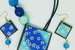 Parure in preziosa carta artigianale giapponese