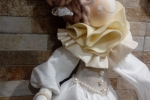 Pigotta artigianale vestito bianco