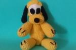 Pluto - Pupazzo amigurumi realizzato a crochet