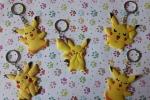 Pokemon in gomma portachiavi