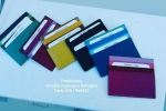 Porta carte di credito, in vera pelle