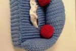 Porta fazzoletti in lana