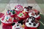 Porta foto a forma di cupcake