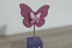 Porta foto in legno farfalla