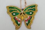 Portachiavi Diamond Farfalla