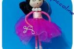 Portachiavi bambolina ballerina