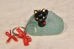 Portachiavi gattino nero