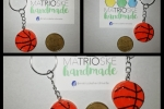 Portachiavi palla da basket