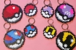 Portachiavi pokemon hama beads