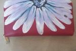 Portafogli dipinti a mano con fiori