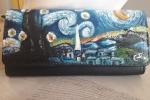 Portafogli dipinti a mano di vangogh