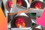 Portatovaglioli in feltro marrone con funghetto
