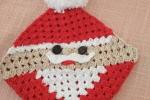 Presina natalizia ad uncinetto