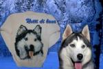 Pullover bimba con cane 5/6 anni