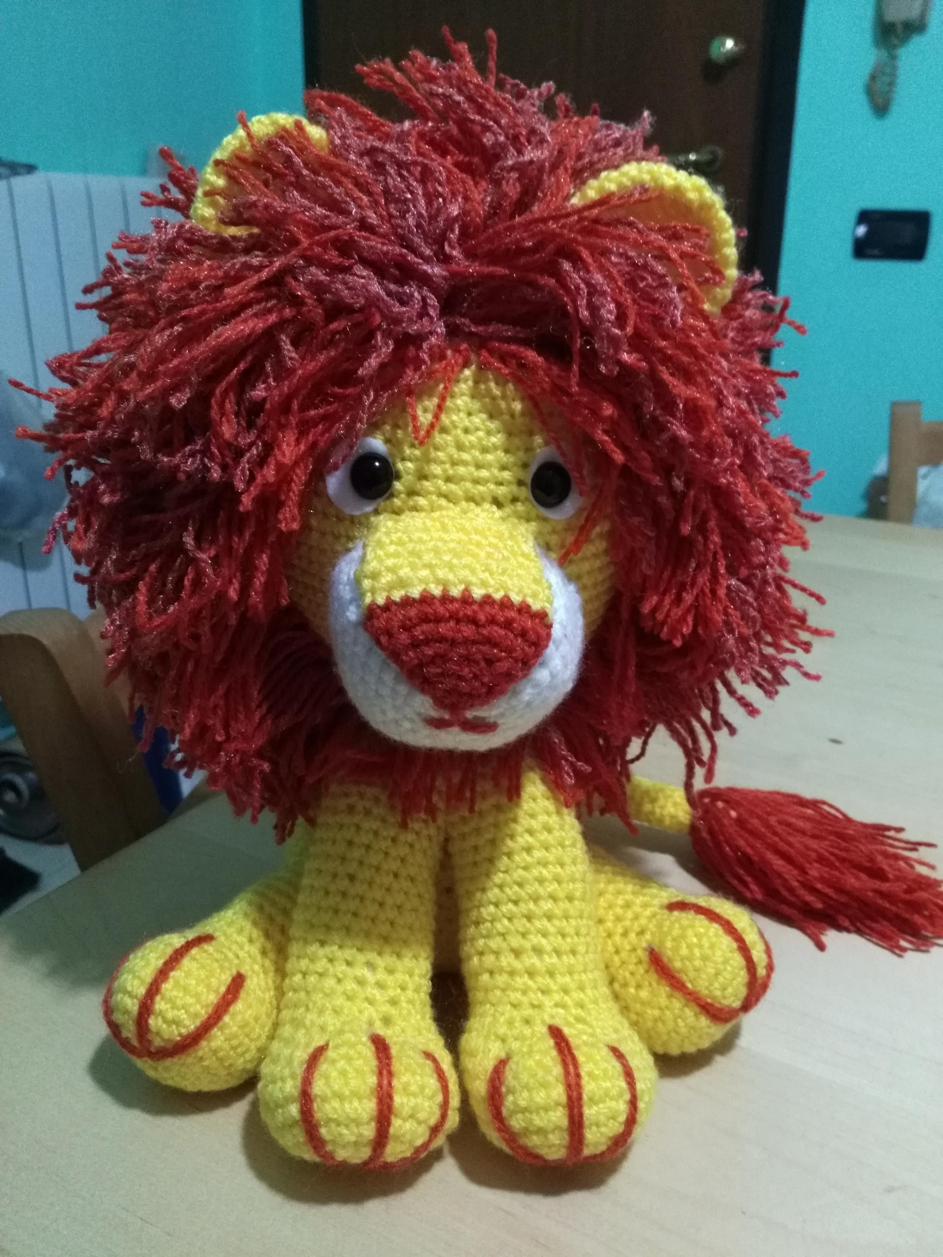 Lion Amigurumi Pattern - Free Crochet Pattern • Craft Passion | 4000x3000
