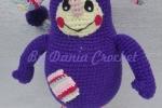 Pupazzo Bumbi amigurumi personaggio di Rai YoYo