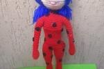 Amigurumi LadyBug realizzata interamente a mano