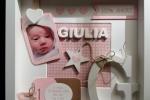 Quadretto nascita personalizzabile