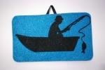 Quadretto pescatore realizzato a mano