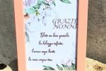 Quadretto rosa festa dei nonni