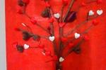 Quadro albero dell'amore