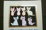 Quadruccio origami gatti