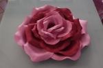 Rosa gigante in gomma eva