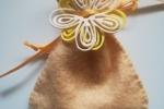 Sacchettino bomboniera portaconfetti in gomma crepla