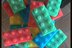 Saponette naturali Lego