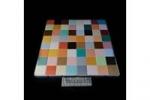Scacchiera tavolino colorato Altezza 40 cm