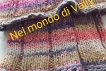 Scaldacollo in lana, colori autunnali